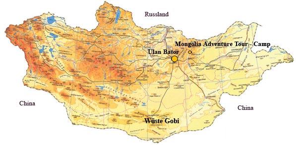 wüste gobi karte Wüste Gobi Landkarte | hanzeontwerpfabriek